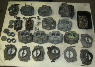 Big Lot of Zenith 32NDIX Parts Porsche 356 Unimog 32 Ndix