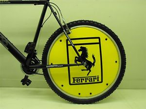 "Ferrari Wheel Disc Cover for 26"" Mountain Bike New"