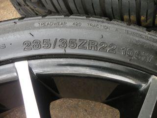 "22"" Giovanna Kilis Wheels Mercedes ml Class ML350 ML450 ML550 Tires"