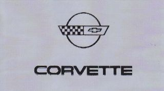1984 Corvette C4 Parts Manual and Owners Manual on Disk