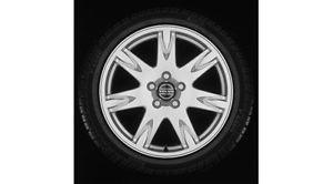 """Brand New 17"""" x 7 5"""" Thor Black Chrome Wheel Rim Volvo S60 V70 S80 30660592"""