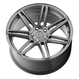 "20"" Niche Lucerne Matte Gunmetal Concave Wheels Rims for BMW 328 335 F30"