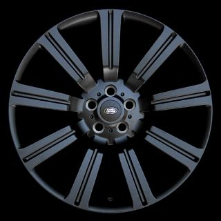 "22"" inch Range Rover Wheels Rims and Tires Package HSE LR3 LR4 Matte Black New"