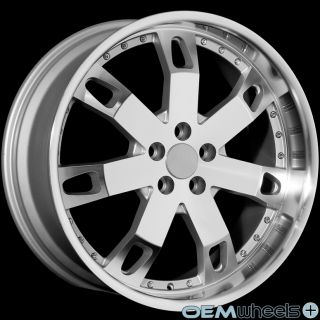"""22"""" Silver Lip Wheels Fits Land Rover Range Rover Sport HSE Supercharged Rims"""