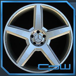 """22"""" inch Wheels Rims Mercedes Benz W221 S550 S600 Concave AMG Style Staggered"""
