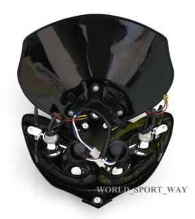 Black Demon Motorcycle Headlight Fairing Streetfighter