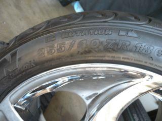 "18"" Factory Mercedes SL CLS Wheels Tires VW GTI SL500 SL550 CLS550 500SL 129"