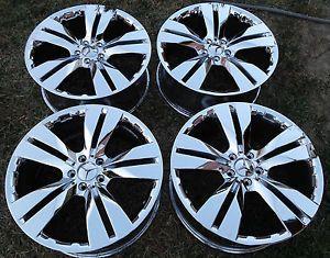 "20"" Mercedes Benz ML350 Chrome Wheel Rims Set of 4"