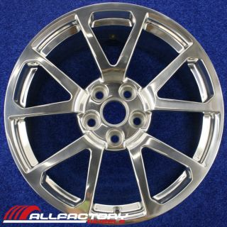 "Cadillac cts STS 19"" 2009 2010 2011 2012 2013 Wheel Rim Polished 4650"