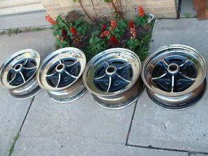 Buick Rally Wheels Road Wheels Set of 4 Electra LeSabre Wildcat Riviera Wagon