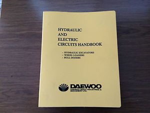 Daewoo Doosan Parts Operation Manual Schematic Circuit Book Excavator Loader