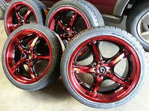 18 inch Gline 511 Wheel Rims Tires Fitnissan Toyota Kia Ford Chevy Honda Nissan