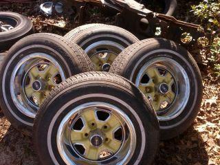 15 inch Oldsmobile Cutlass Rally Wheels 442 215 75 15