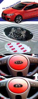 Kia Forte Koup 2010 Steering Wheel Emblem