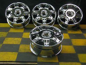 "19"" Maybach 57s 62s Chrome Factory Wheels Rims"
