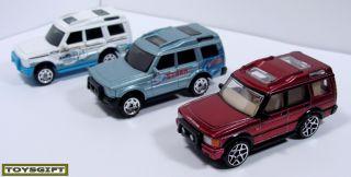 RARE Lot 17 Matchbox Land Rover Defender Range Discovery Freelander 90 UK Legend