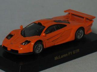 New Kyosho 1 64 Diecast Orange McLaren F1 GTR Car