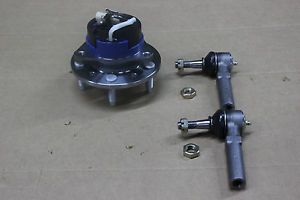 1 New Front Chevy Olds Wheel Hub Bearing Assembly w ABS 5 Lug 2 Outer Tie Rods