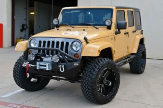 2013 Jeep Wrangler Unlimited Sport 4 Skyjacker Lift 20 Wheels Toyo Mud Terrain