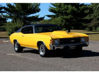 Awesome 1971 Hot Rod Chevelle 350 Posi Yellow Nice Custom Muscle Car