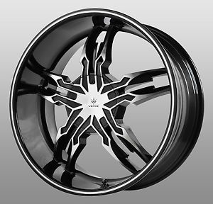 18 inch chrome verde kaos wheels rims chevrolet impala. Black Bedroom Furniture Sets. Home Design Ideas