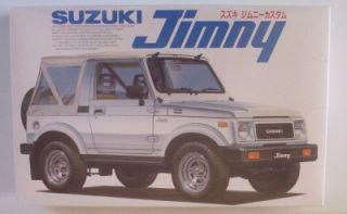 4x4 Suzuki Jimny Samurai Custom SEALED Fujimi 1 24 SUV Model Kit