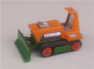 Big Bull Bulldozer Dozer 12 Lesney England Matchbox Construction Toy Vtg