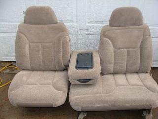 88 98 Chevy Silverado 60 40 Front Bench Seat Tan New Surplus GMC Sierra Suburban