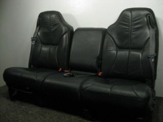 Dodge Hemi RAM Truck Leather Seats w Jump Seat 1997 1998 1999 2000 2001 2002