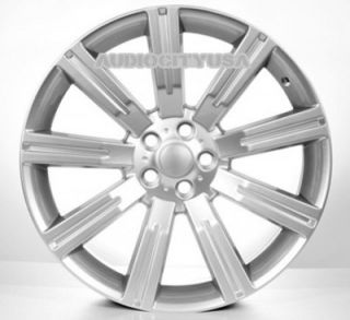 "22"" IN358 Sil for Land Range Rover Wheels and Tires Rims HSE Sports Supercharged"