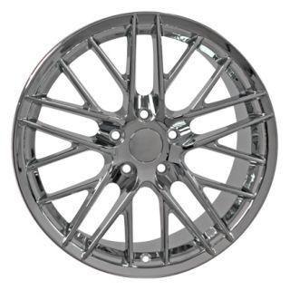 "19"" Corvette C6 ZR1 Chrome Wheel Rim Fit Chevrolet"