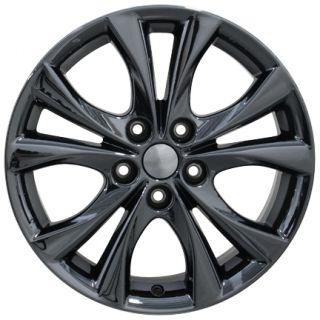 """17"""" PVD Black Chrome Mazda 3 Wheel 17x7 Rim Fits Mazda 3 2014"""