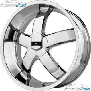 "1 20x8 5 Verde Skylon 5x115 5x110 38mm Chrome Wheel Rim inch 20"""