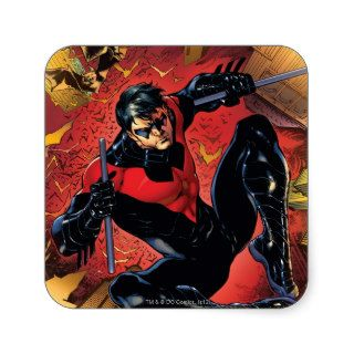 The New 52   Nightwing #1 Square Stickers