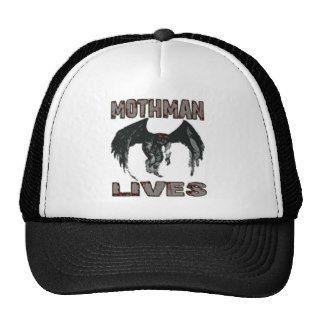 MOTHMAN LIVES MESH HAT