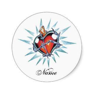 Cool Heart  tattoo sticker