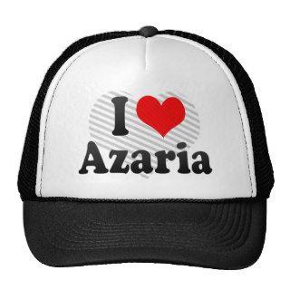 I love Azaria Hat