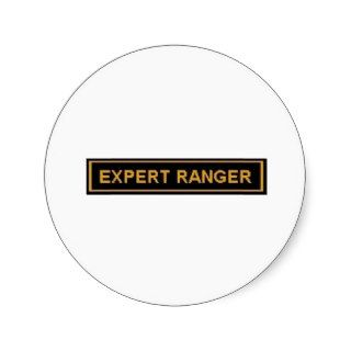 EXPERT RANGER ARMY 'PATCH' STICKERS