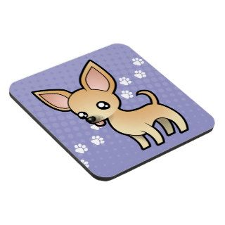 Cartoon Chihuahua (smooth coat) Drink Coaster