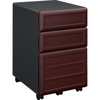 Altra Pro Collection Mobile File Cabinet 3 Drawers 26 12 H x 15 25 W x 18 310 D Cherry