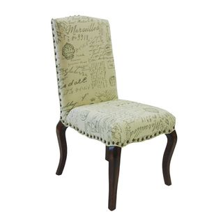 French Script Accent Chairs (Set of 2) Dining Chairs