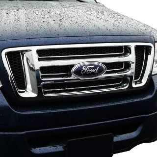 "2004 2008 Ford F 150 Chrome Grille ""Bar Style"" Grille Automotive"