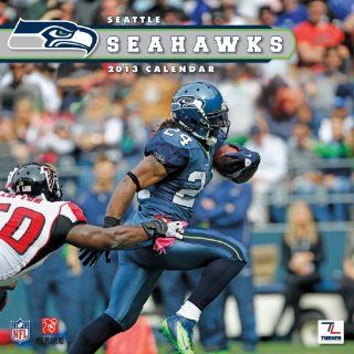 Perfect Timing   Turner 12 X 12 Inches 2013 Seattle Seahawks Wall Calendar (8011295): Office Products