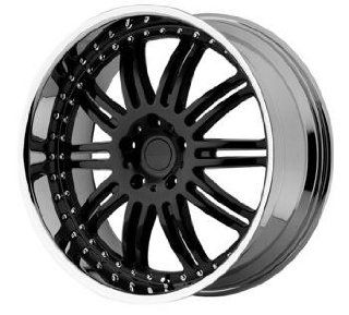 KMC KM127 20x8.5 Black Wheel / Rim 5x120 with a 38mm Offset and a 72.56 Hub Bore. Partnumber KM12728552538: Automotive