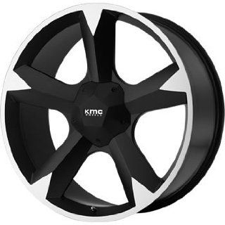 KMC KM674 24x9.5 Black Wheel / Rim 6x135 & 6x5.5 with a 30mm Offset and a 106.25 Hub Bore. Partnumber KM67424967730: Automotive
