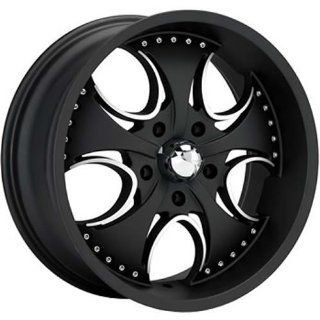 KMC KM755 24x9.5 Black Wheel / Rim 5x4.5 with a 12mm Offset and a 72.60 Hub Bore. Partnumber KM75524912712: Automotive