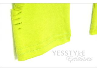 Distressed Leggings, Neon Green , One Size   SO Central
