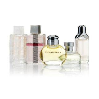 Miniature Set (5 items): Burberry + Weekend + Brit + London + The Beat, 22.5ml/0.75oz   Burberry