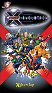 X Men Evolution   Xplosive Days [VHS]: Scott McNeil, Meghan Black, Christopher Judge, Kirby Morrow, Venus Terzo, Laurent Vernin, David Kaye, Brad Swaile, Maggie Blue O'Hara, Kirsten Alter, Neil Denis, Christopher Gray, Chris Claremont, Jack Kirby, John