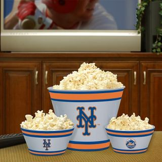 New York Mets MLB Fan Feasing Bowl Set